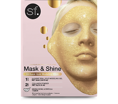 Mask & Shine 24 Karat Gold Modeling Mask