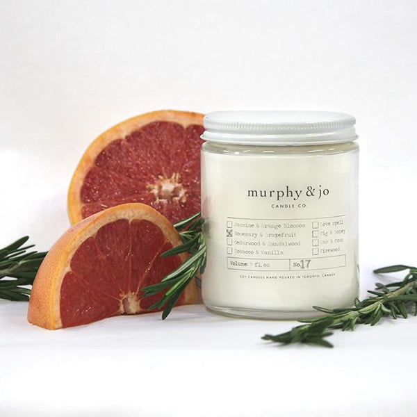 Rosemary & Grapefruit Candle