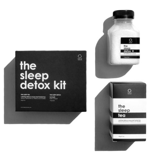 The Sleep Detox Hot bath and Sleep Tea Kit