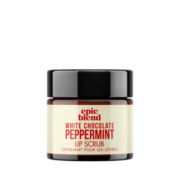 White Chocolate Peppermint Lip Scrub