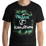 VEGAN (r)EVOLUTION Graffiti Mens dark color Short-Sleeve T-Shirt