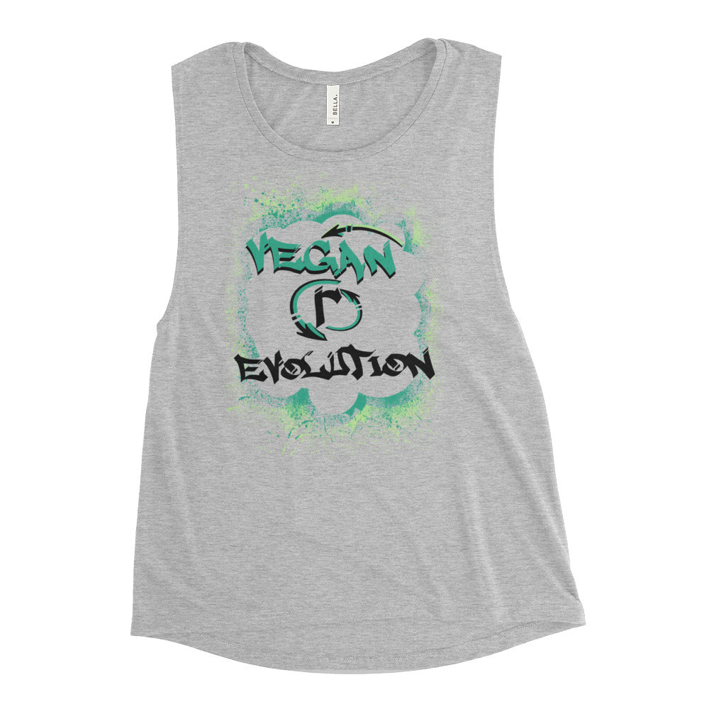 VEGAN (r)EVOLUTION Graffiti Womens Tank Top