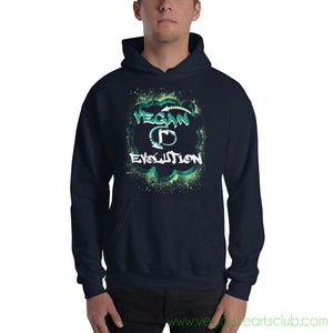 Join the VEGAN (r)EVOLUTION! Vs1 Mens Hoodie