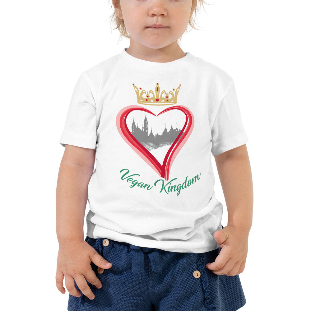 Vegan Kingdom Toddler Short Sleeve Tee
