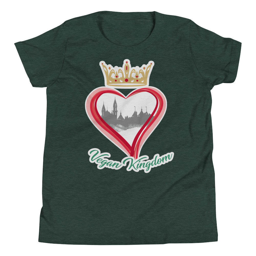 Vegan Kingdom Youth Short Sleeve T-Shirt