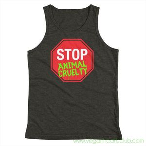 STOP Animal Cruelty Youth Tank Top