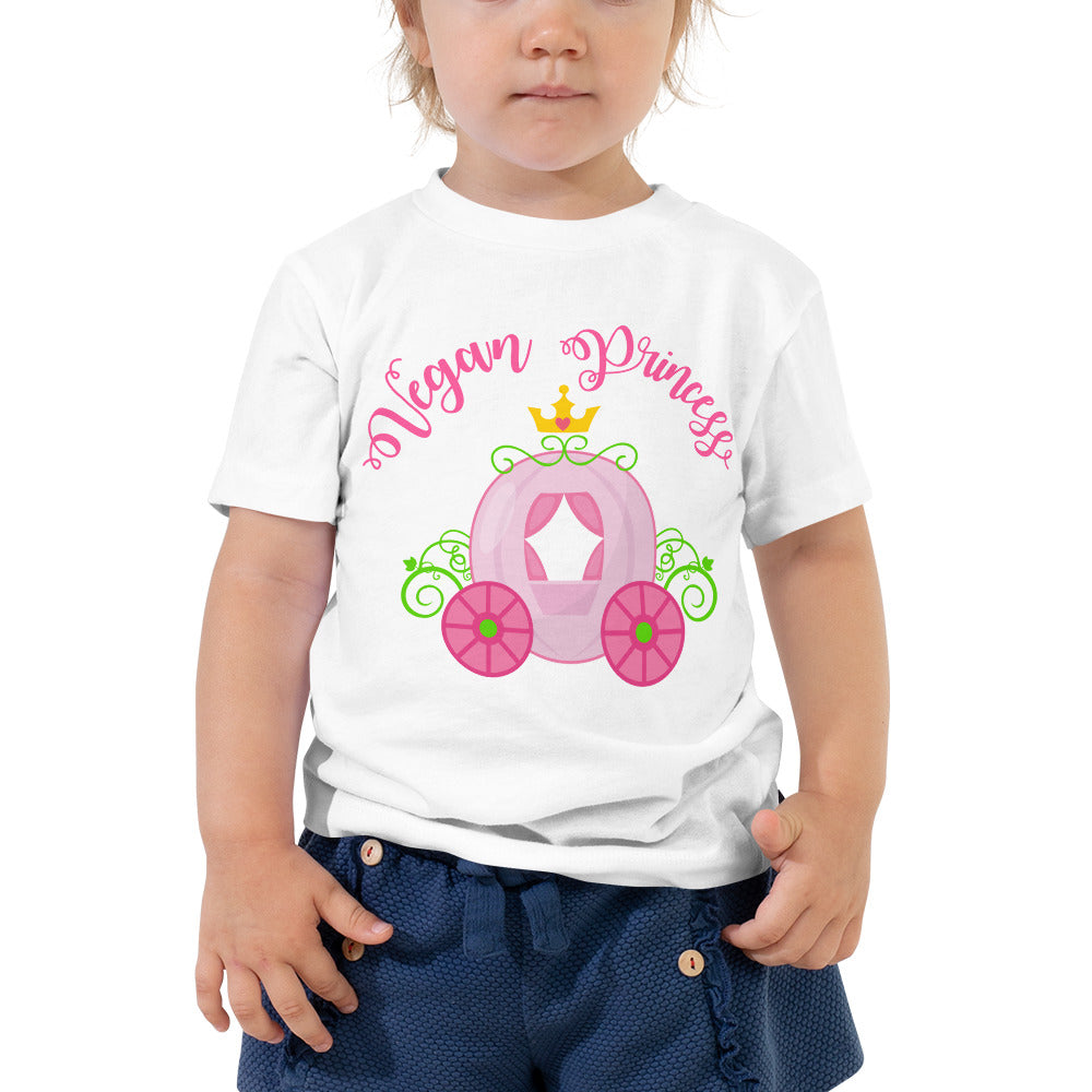 Vegan Princess Toddler Short Sleeve Tee