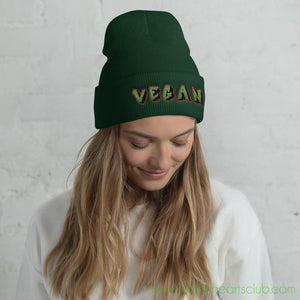 Vegan Graffiti VS2 Cuffed Beanie