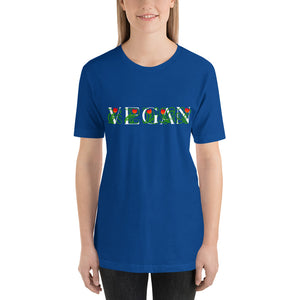 VEGAN Vine Short-Sleeve dark color T-Shirt