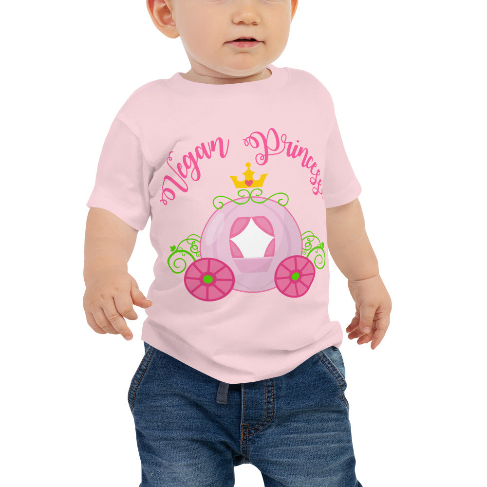 Vegan Princess Baby Jersey Short Sleeve Tee