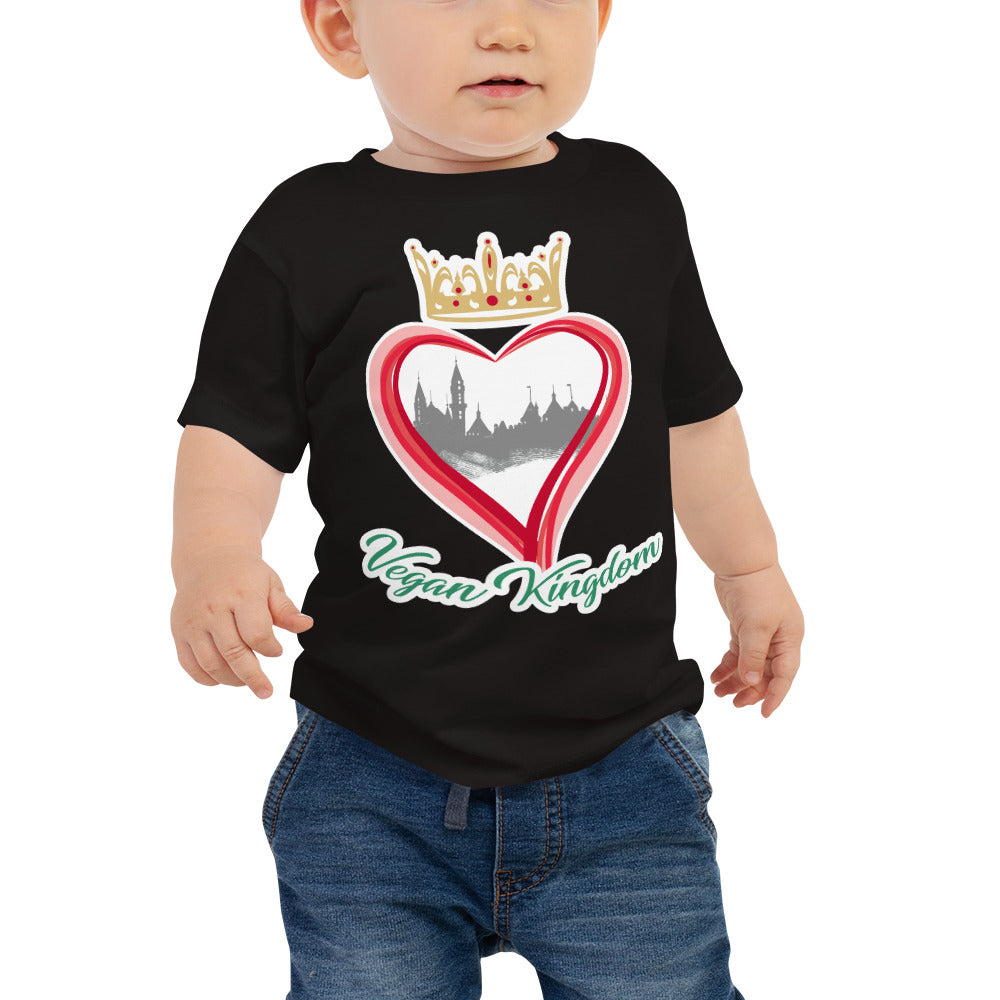 Vegan Kingdom Baby Jersey Short Sleeve Tee