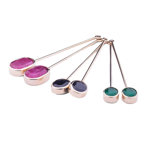 Jewelato Series - 3 way earrings