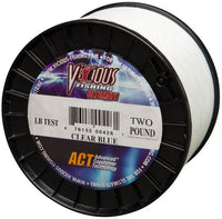 Vicious Fishing 25# Ultimate Line, Clear Blue, 660 yd