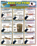 Tightline Publications 129318-Maurice Basic Fly Tying Chart # 2 Fishing Equipment