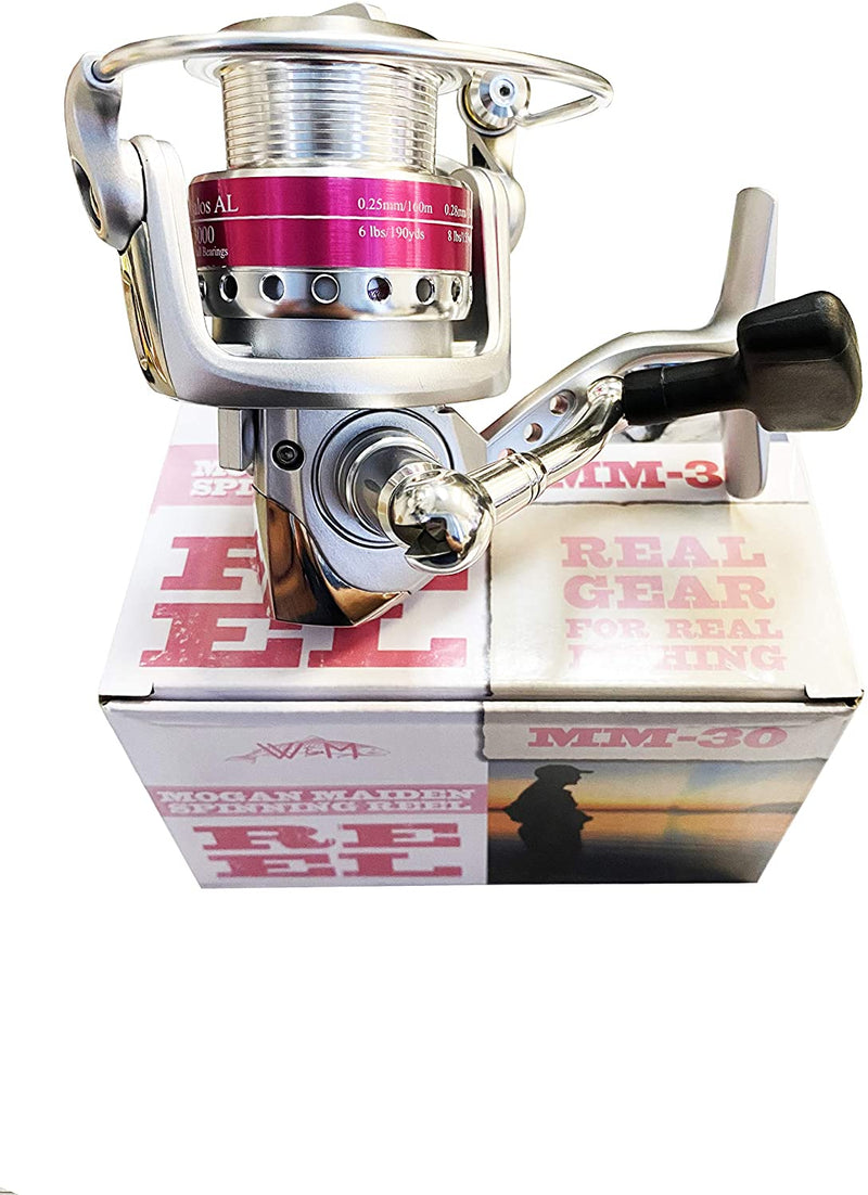 WM Mogan Maiden Spinning Reel