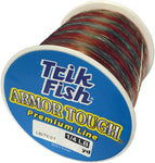 Trik Fish Spool Test Fishing Line, Clear/Camouflage, 6 x 1/4 lb