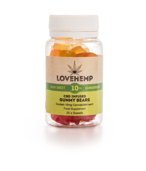 CBD Gummy Bears – 10mg CBD per Bear * Out of Stock*