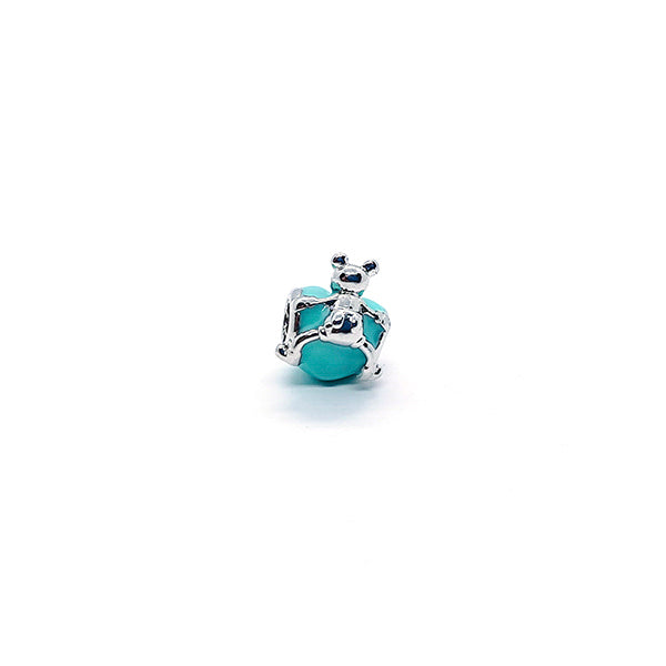 AZURE MOUSE LOVE CHARM - Disney Jewelry Jewellery Mickey Mouse Minnie