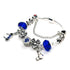 BLUE MINNIE BRACELET - Disney Jewelry Jewellery Mickey Mouse Minnie