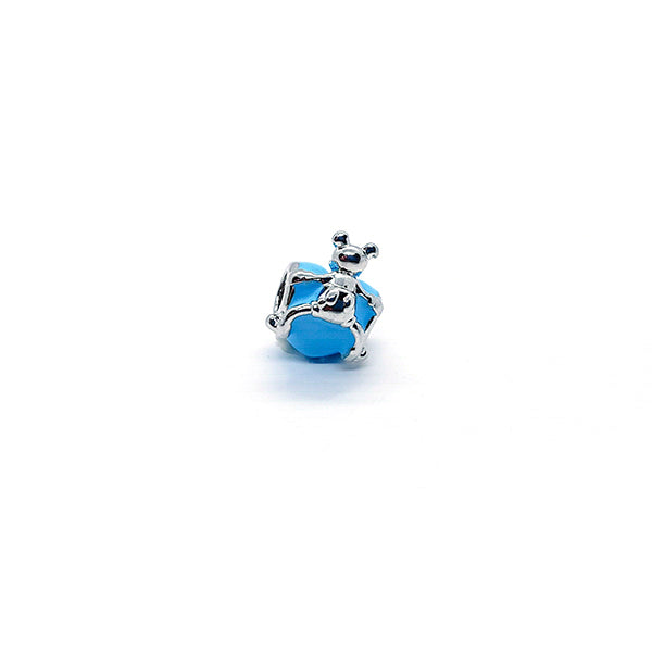 BLUE MOUSE LOVE CHARM - Disney Jewelry Jewellery Mickey Mouse Minnie