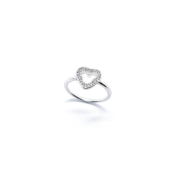 DIAMOND HEART RING - Disney Jewelry Jewellery Mickey Mouse Minnie