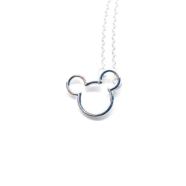 ICONIC MOUSE NECKLACE - Disney Jewelry Jewellery Mickey Mouse Minnie