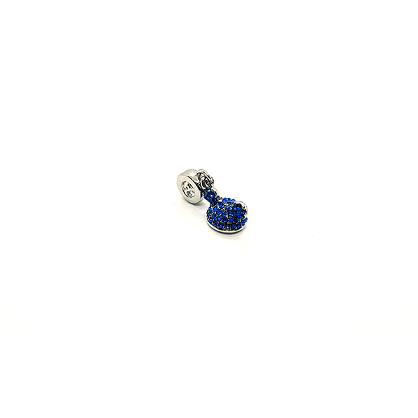 SPARKLING BLUE HAT DANGLE CHARM - Disney Jewelry Jewellery Mickey Mouse Minnie