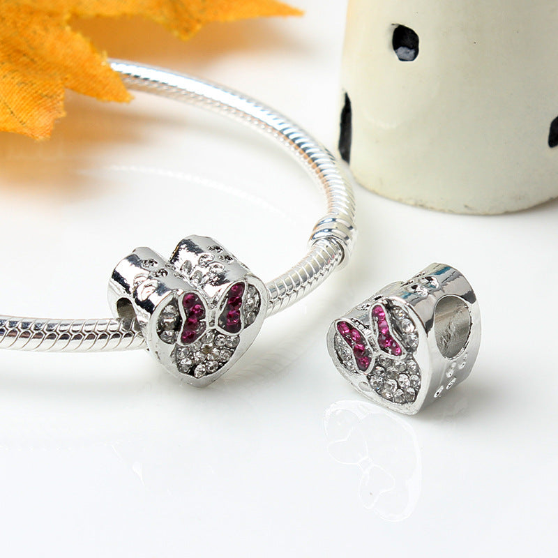 SPARKLING LOVE CHARM - Disney Jewelry Jewellery Mickey Mouse Minnie