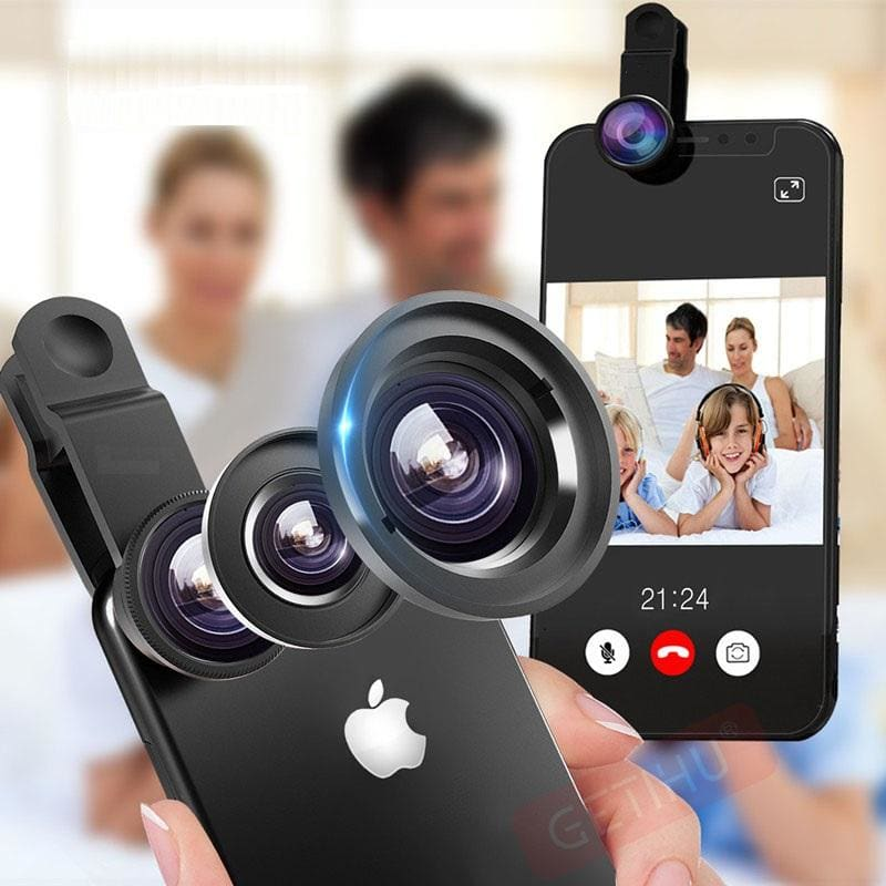 FREE 3 in 1 Mobile Phone Lenses - FLASH OFFER - gadgets