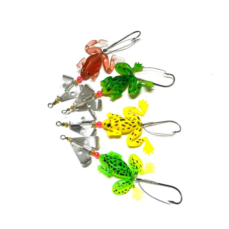 FREE 4-Pak Frog Spinners - FLASH OFFER - fishing