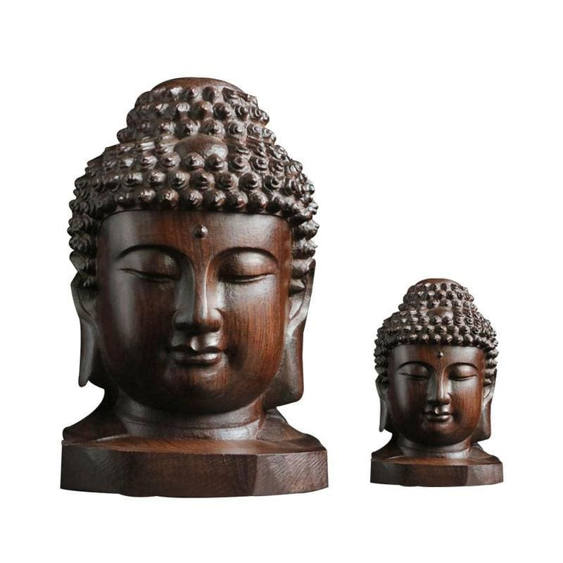 FREE Mahogany Buddha Head - FLASH OFFER - spiritual