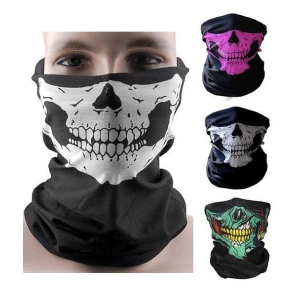 FREE Skull Mask - FLASH OFFER - White - skull
