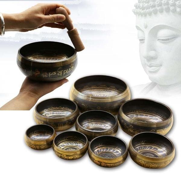 Masterpiece Tibetan Singing Bowl - singing bowl