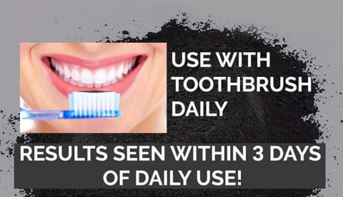 FREE Activated Charcoal Tooth Polish Whitener - FLASH OFFER