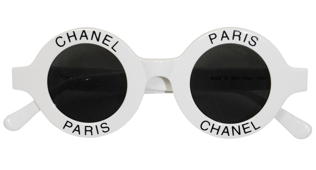 2f952d09b356 Chanel's mod. 01945 round logo sunglasses are one of the world's most  coveted and sought after statement accessories. Having been worn by  countless A-list ...