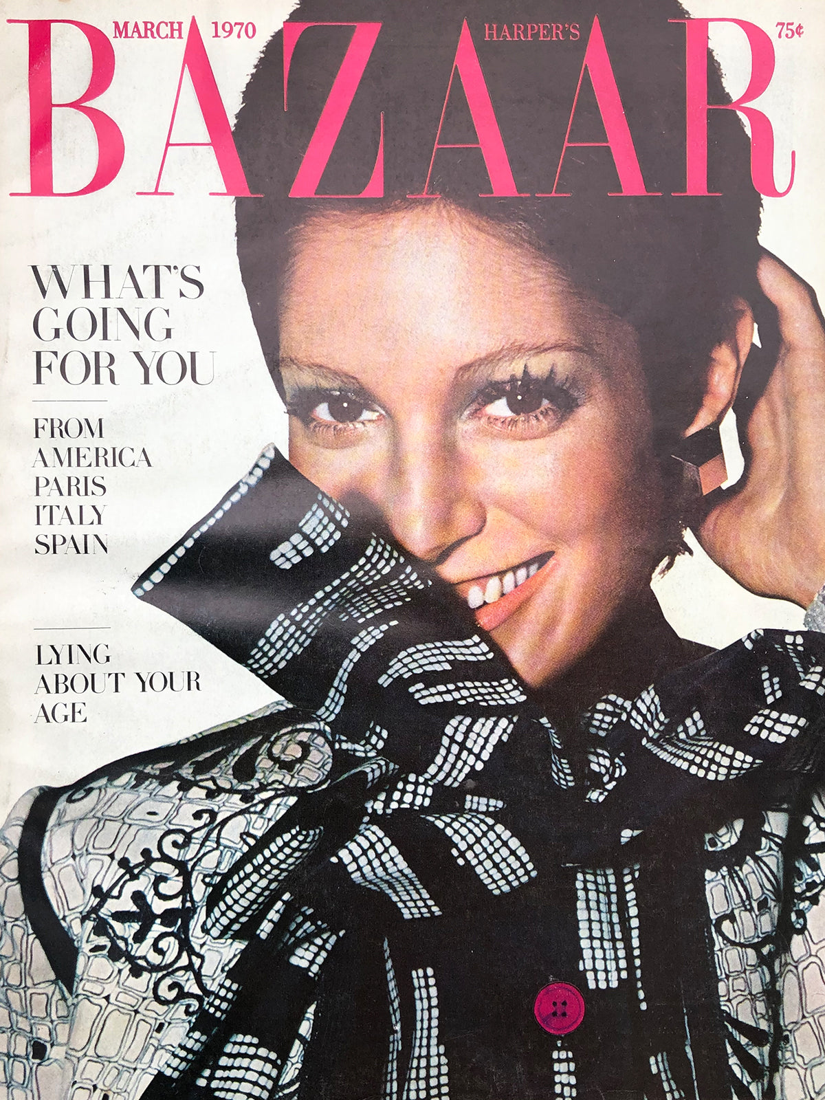 Archived - Harper's BAZAAR US March 1970