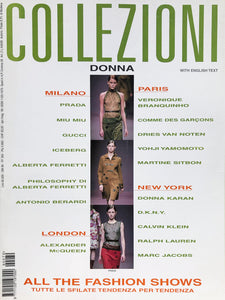 Archived - Collezioni N. 70 Prêt-à-Porter Fall/Winter 1999/2000