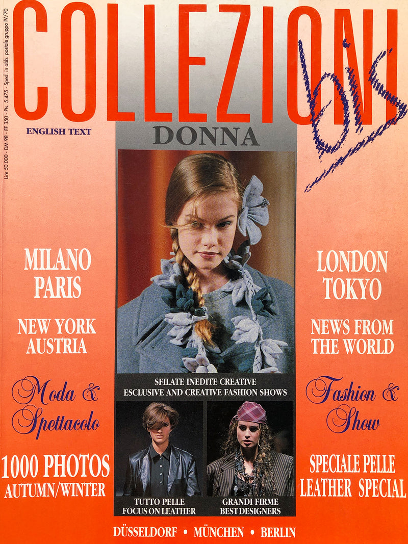 "Archived - Collezioni N. 29 ""Bis"" Prêt-a-Porter Fall/Winter 1992/1993"