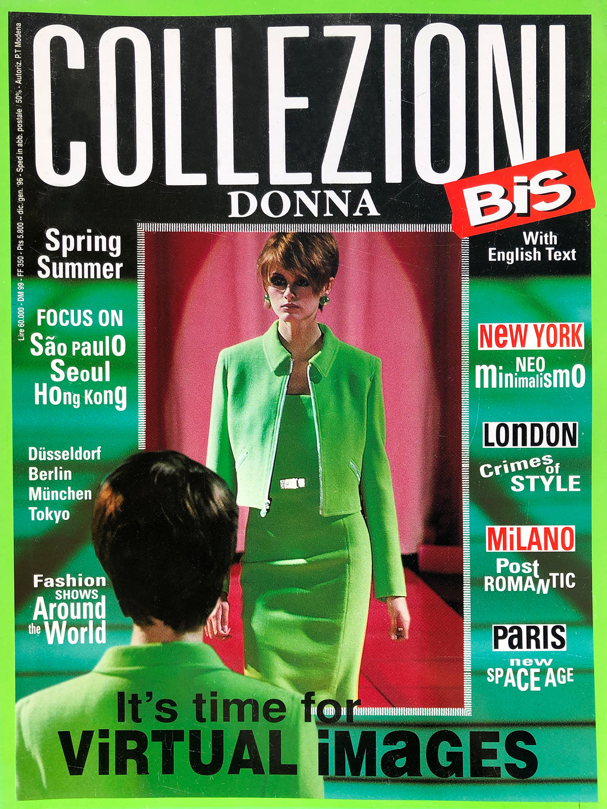 "Archived - Collezioni N. 50 ""Bis"" Prêt-a-Porter Spring/Summer 1996"