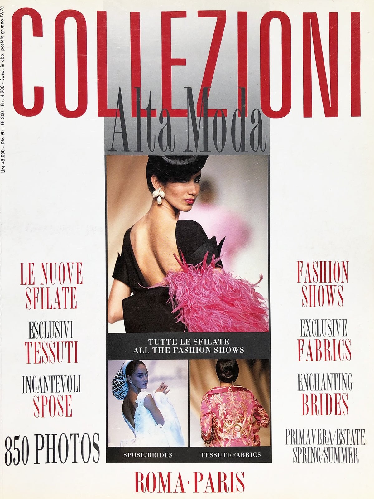 Archived - Collezioni N. 21 Haute Couture Spring/Summer 1991