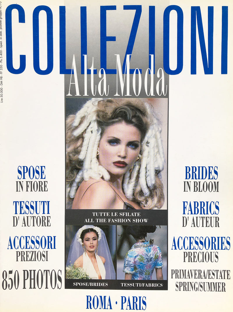 Archived - Collezioni N. 27 Haute Couture Spring/Summer 1992