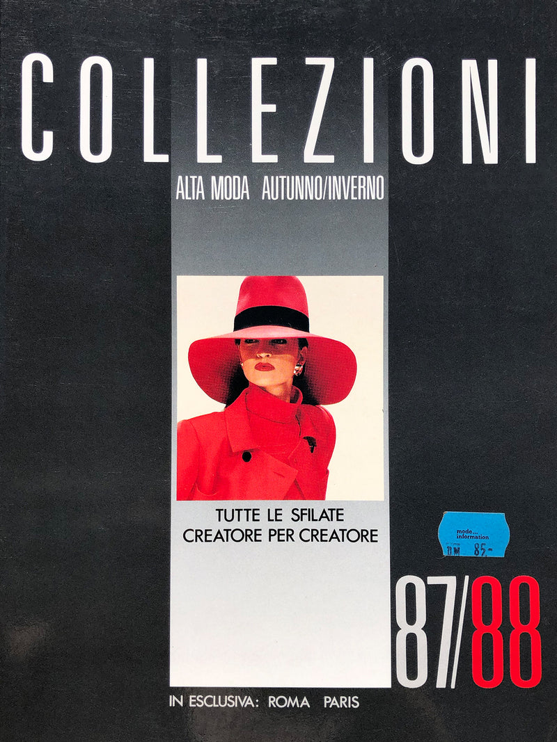 Archived - Collezioni N. 4 Haute Couture Fall/Winter 1987/1988
