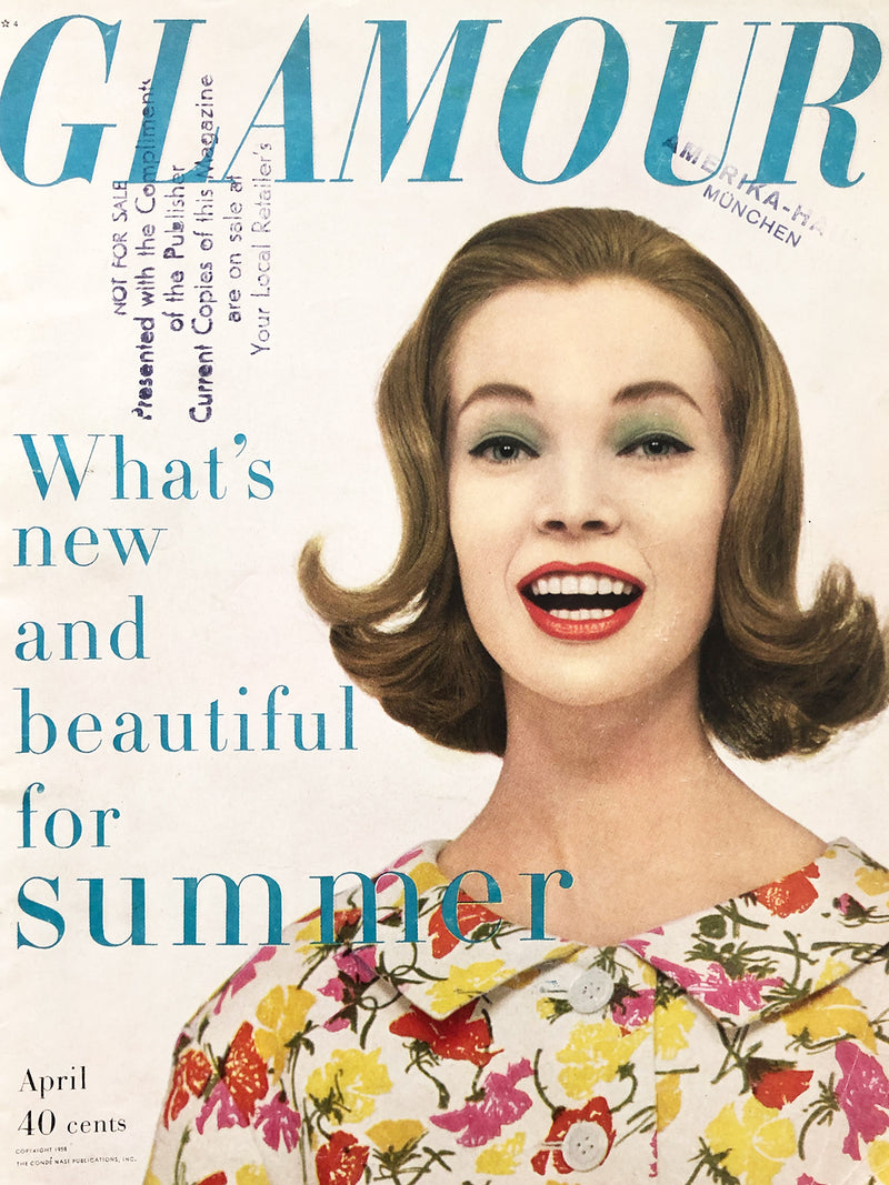 Archived - GLAMOUR US April 1958