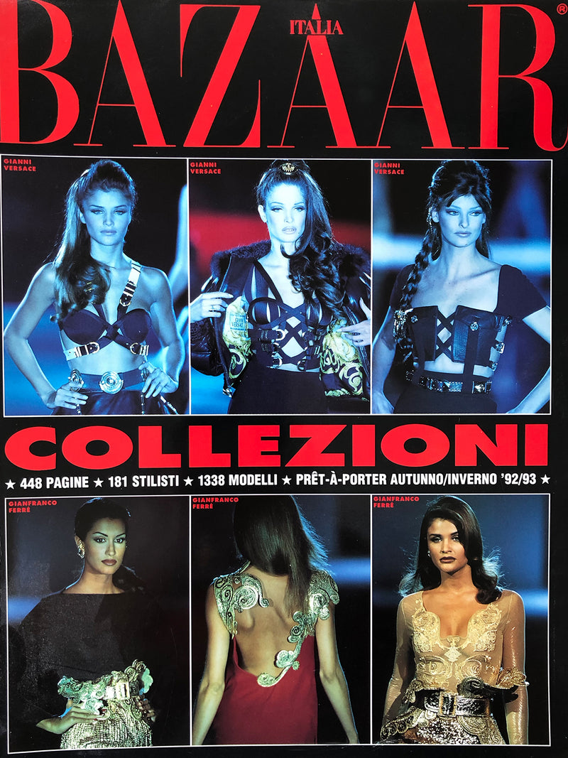 Archived - Harper's BAZAAR Collezioni Fall/Winter 1992/1993