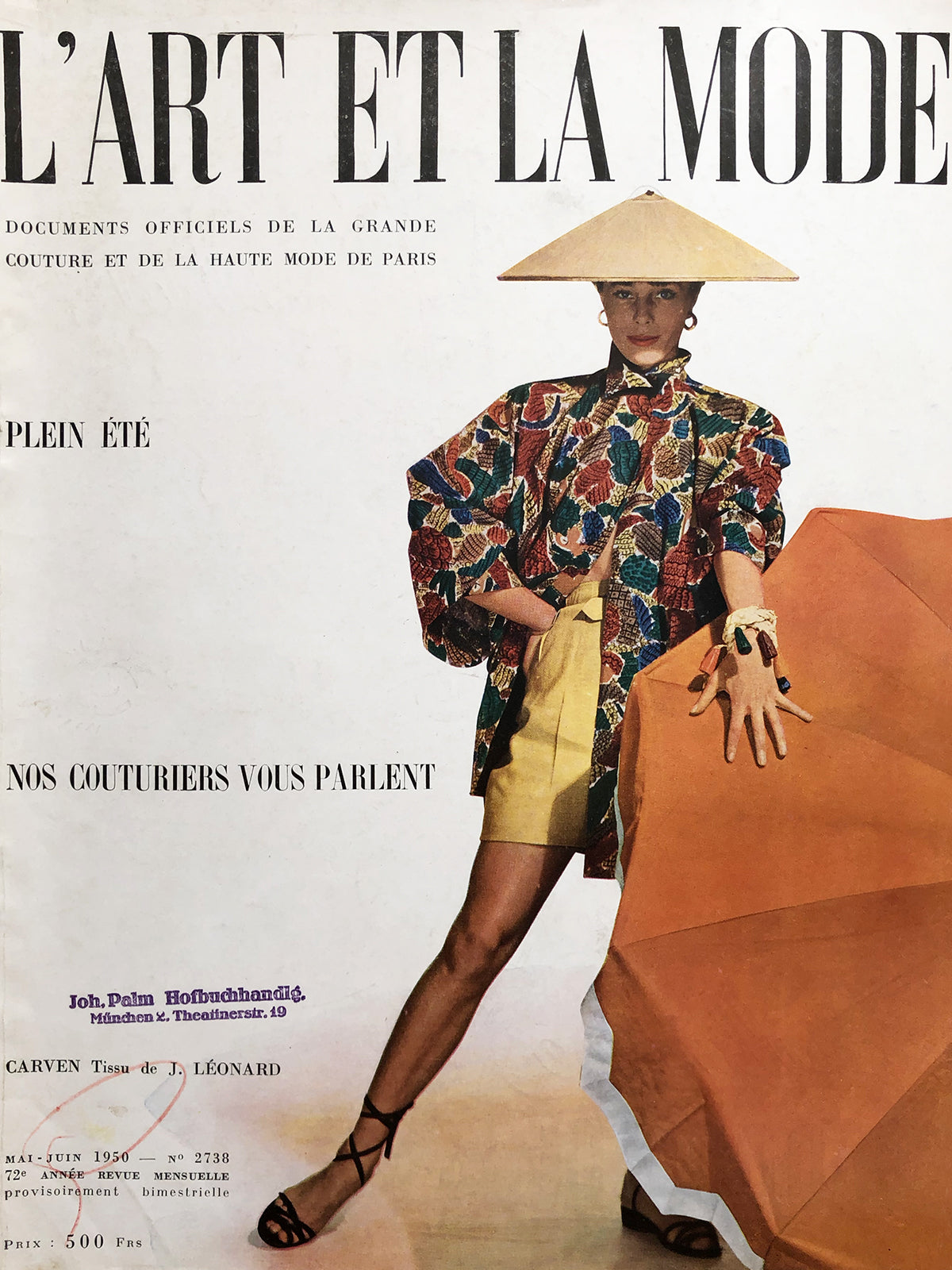 Archived - L'Art et la Mode France May/June 1950