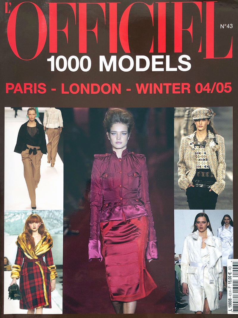 Archived - L'OFFICIEL 1000 Models N. 43 Prêt-à-Porter A/W 2004/2005 London Paris