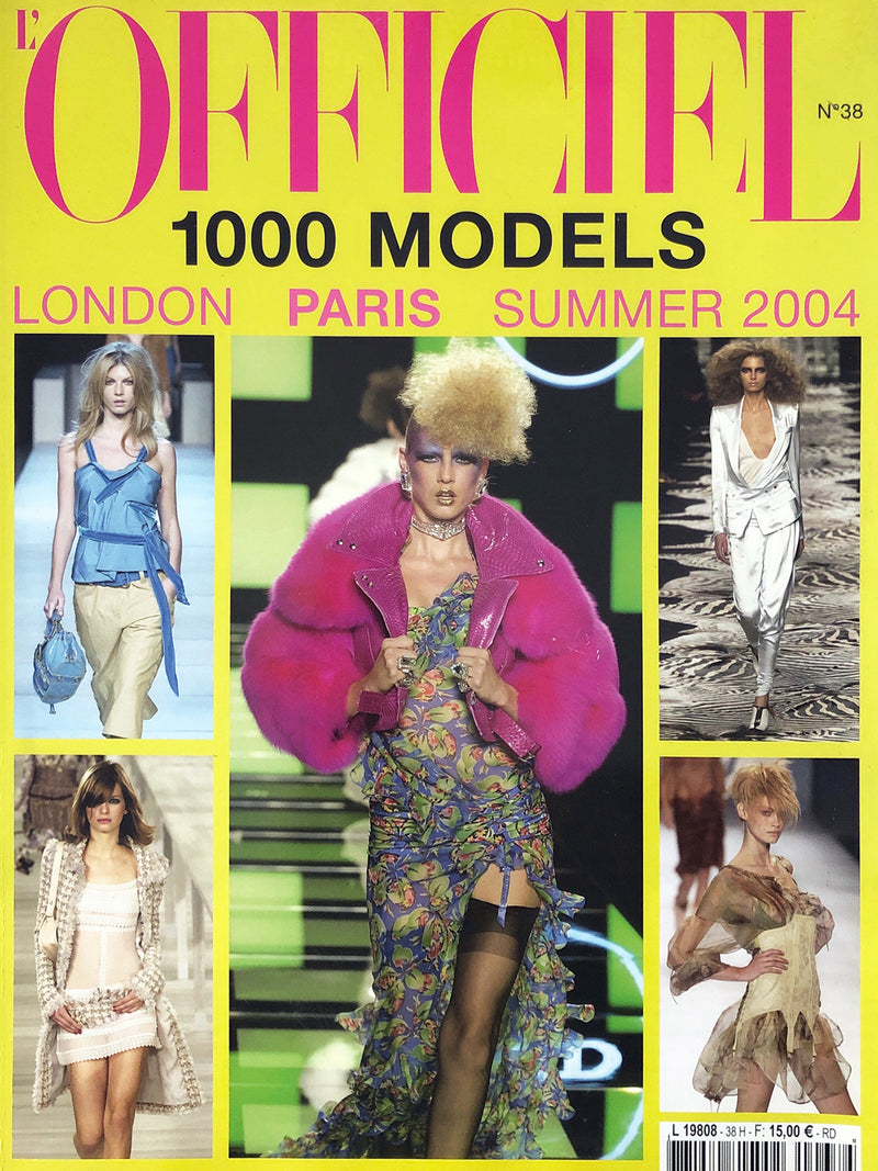Archived - L'OFFICIEL 1000 Models N. 38 Prêt-à-Porter S/S 2004 London Paris