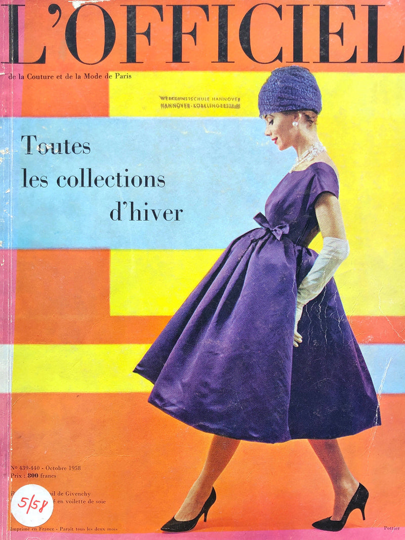 Archived - L'Officiel Paris October 1958