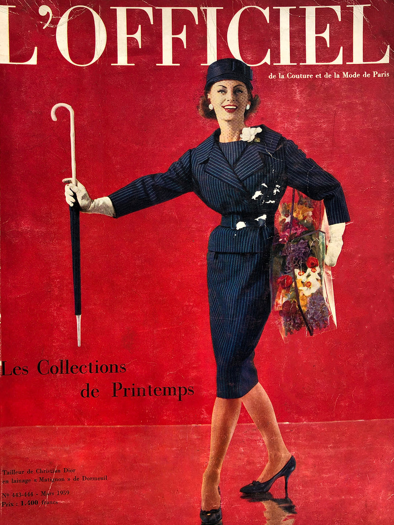 Archived - L'Officiel Paris March 1959