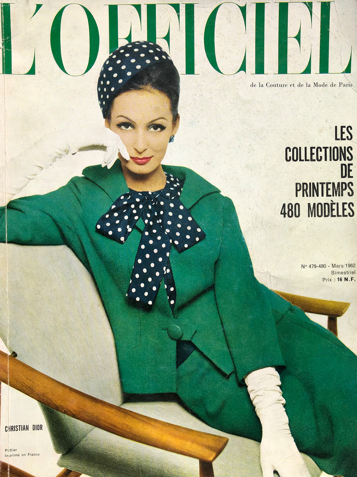 Archived - L'Officiel Paris March 1962